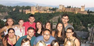 Business Alumni Network - Spain Team (with Jose Abana- top row, extreme right)