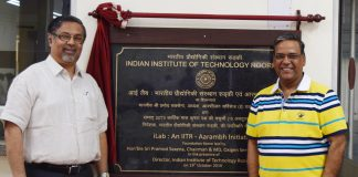 Foundation Stone Laying for iLab An IITR- Aarambh Initiative, at IIT Roorkee