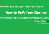 """Surexpert organises a workshop on """"How to build your startup"""""""