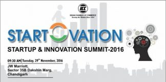 "Startup & Innovation Summit-2016: ""START-O-VATION"" in Chandigarh on 29th Nov, 2016"