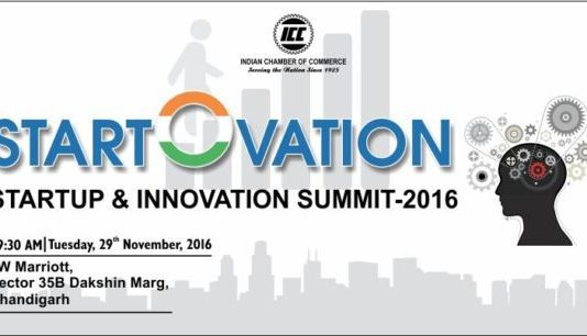 "Startup & Innovation Summit-2016: ""START-O-VATION"" in Chandigarh on 29th Nov, 2016"