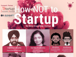Bevy - Everything Startup & Startup Success Stories - India to Organise 'How NOT to Startup' on 17th December 2016 in Mumbai