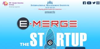 IMI, New Delhi to Organize E-Merge 2017 The Startup Confab
