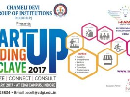 Chameli Devi Group of Institutions, Indore to organise Start-Up Funding Conclave 2017 on 18-19, February 2017