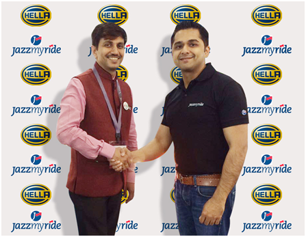 HELLA partners with Jazzmyride for India's Online Distribution