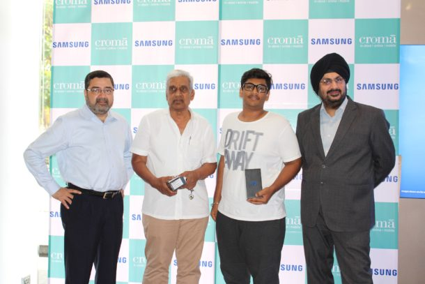 Croma gives out Samsung S8 to its esteemed customers 3 days before its National launch