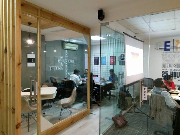 Empowerers Coworking Office - A south delhi based co-working space