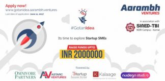 Gotanidea Challenge 2017 Season 2 - Aarambh Ventures to Find, Nurture and Grow Original Thinkers and Innovators in Association With SINED, TBI, NDRI, Karnal