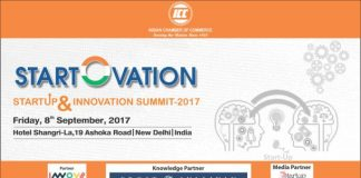 Indian Chamber of Commerce to Organise National Start-up & Innovation Summit 'Start-O-Vation' on 8th September, 2017 in New Delhi