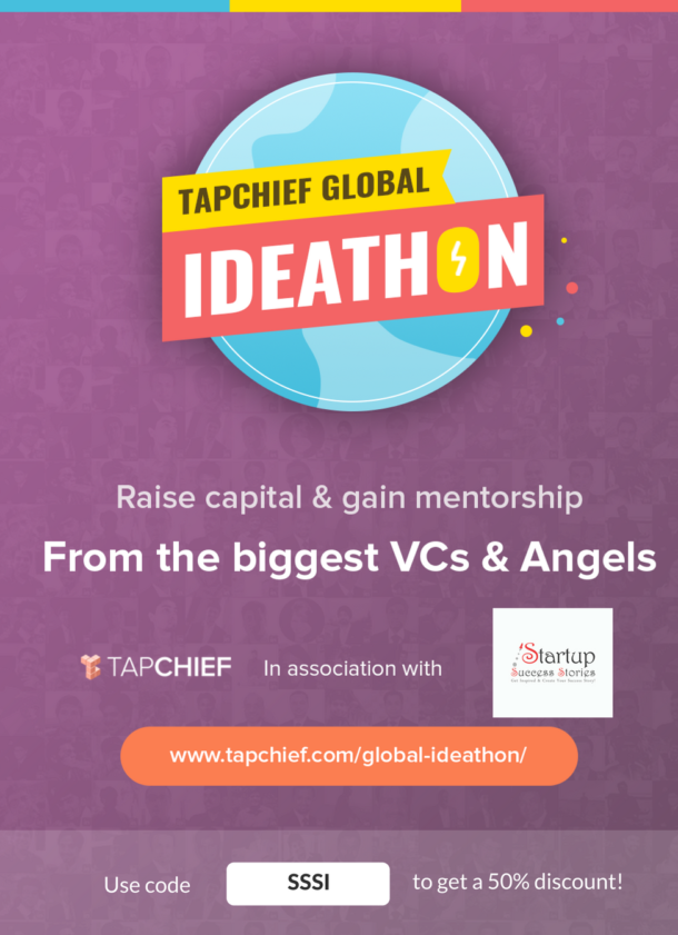 Startup Success Stories India and Tapchief Bring You the Chance to Pitch to the Biggest Investors in the World