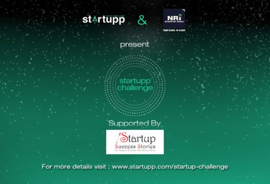 Startupp Challenge 2017 - A joint Initiative by Startupp and NRI Startup India to Empower Startups and Innovations