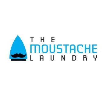 The Moustache Laundry Logo