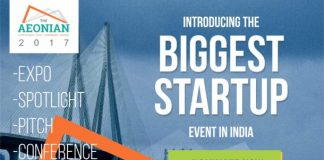 "Aspire Media to Organise ""The AEONIAN 2017"" - An Annual Startup Summit on 9 – 10th November 2017 at WTC, Mumbai"