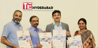 TiE Hyderabad Launches TiE Young Entrepreneurs (TYE) Program for High School Students - Principal Secretary Shri. Jayesh Ranjan Formally launched the program