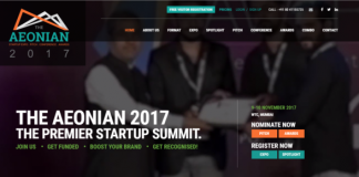 The AEONIAN – A 2-Day Startup Event in Mumbai on 9-10 November 2017
