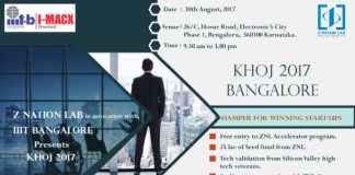 Z Nation Lab to Organise Khoj 2017 on 30th August at IIIT-B, Bangalore