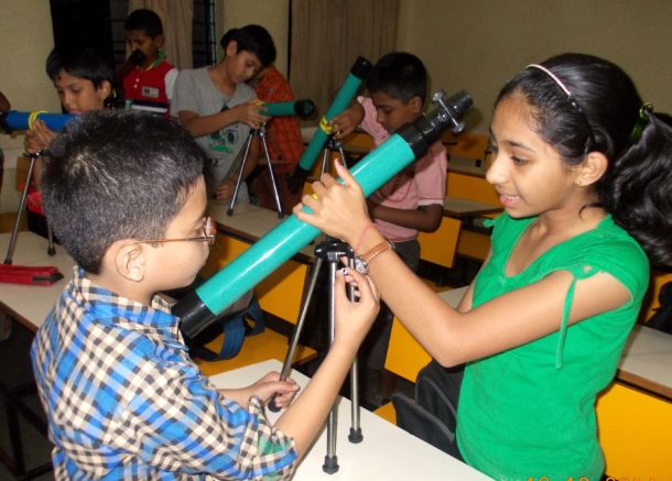 Science and Robotics Workshops in schools and engineering colleges