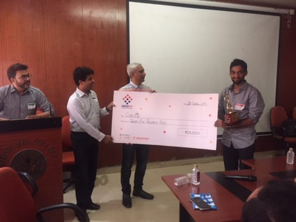 ClinMD, 2nd runner-up of SmartUp- Espark Viridian B Plan Competition