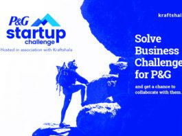 P&G Startup Challenge to Be Hosted in Association With Kraftshala - To Empower Innovations & Startups via a Couple of Business Challenges Across Multiple Sectors