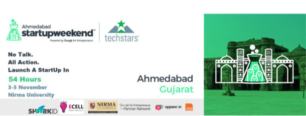 Nirma University to Organise Startup Weekend Ahmedabad 2017 From 3rd to 5th November, 2017