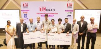​​Law School 101 and WCB wins TiE Hyderabad's Inaugural TiE GRAD Business Competition