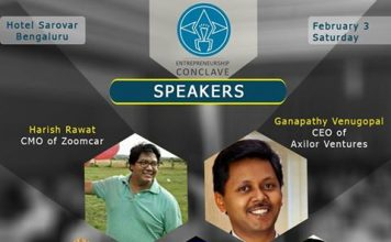 Speakers of Entrepreneurship Conclave