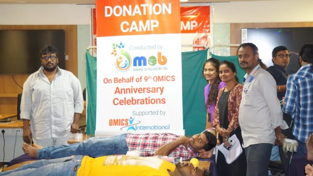 Omics 'Giving Thought Program' helps Thalassemia Blood Transfusion Neediness