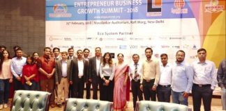 """1st edition of """"Entrepreneur Business Growth Summit-2018"""" organised successfully"""