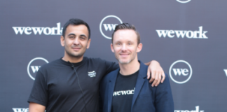 Karan Virwani, GM, WeWork India and Ryan Bennett, GM, WeWork India