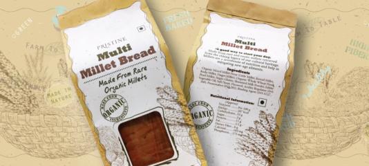 Multi-millet bread banner