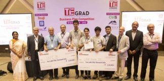 TiE-GRAD Finalist WCB of BITS Pilani selected for Global University Challenge in Texas - TiE Hyderabad announces TiE-Grad season 2