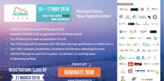 """NASSCOM CoE (IoT) to co-organize """"THE AEONIAN 2018"""" - Partnership to Immensely Benefit Hundreds of SMEs and Start-ups at the Event"""
