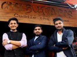 Anubhav Dubey (left), Rohit Gothi (middle) and Anand Nayak (right)
