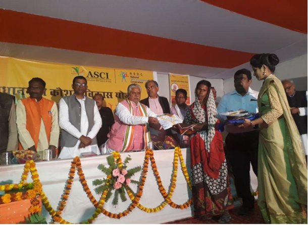 Launch of PMKVY- RPL by IL&FS Skills in Chhapra, Bihar for Dairy Farmer & Entrepreneur, Tuber Crop Cultivator and Maize Cultivator Job Roles