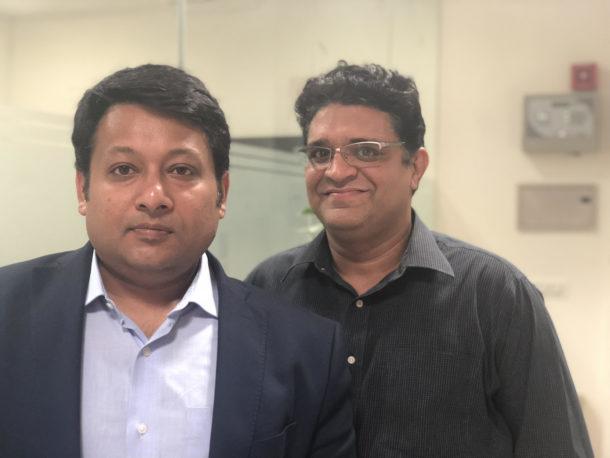 Vipul Sharma, CEO Chqbook (Left), Rajat Kumar, COO, Chqbook(Right)