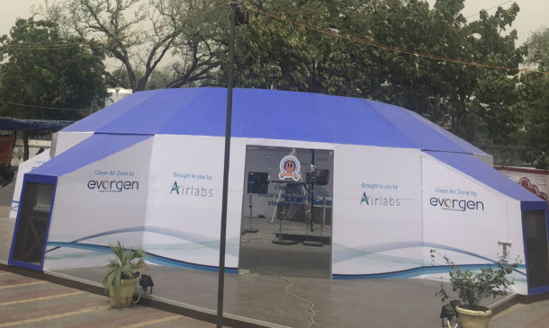 AairHavn- World's first Street Level Air Cleaner