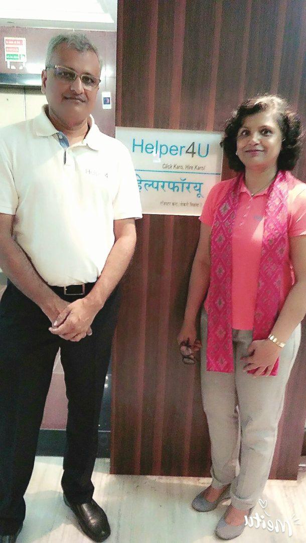 Co-Founders of Helper4U