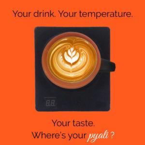 Latte art on Pyali