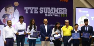 TiE-TYE Innovation Challenge 2018 winners