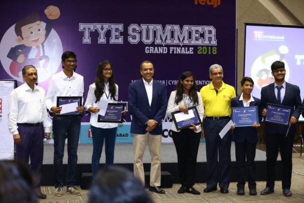 TiE-TYE Innovation Challenge 2018 winners