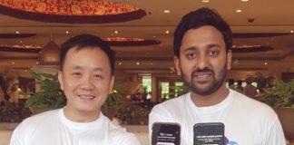 (L-R) Mr.-Yun-Ouyang, Co-FounderPresidentAIG_-Ravish-Jain, Country-Marketing-Director