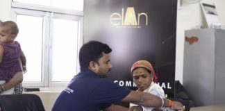 Elan Group Organizes Free Health Check up Camp..