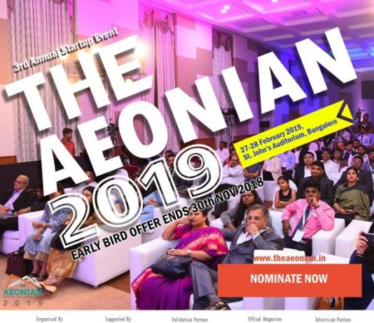 "Aspire Media to Organise ""The AEONIAN 2019"" – An Annual Startup Summit on 27 – 28th February 2019"