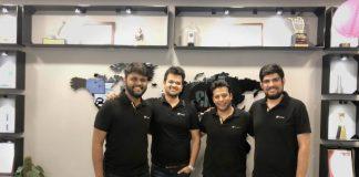 (L-R) Suryansh Jalan, Gaurav Srivastava, Kushal Nahata, Ayush Syal