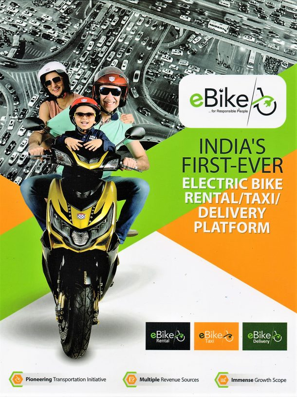 eBike launched their unique services, eyes 2% of Indian electric two wheeler   market share of service providers