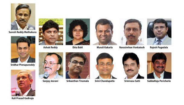 All Board Members of TiE Hyderabad