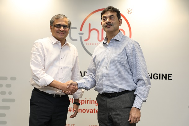 Jayesh Ranjan, Principal IT Secretary-Telangana with Ravi Narayan