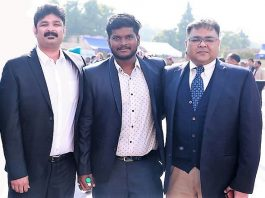(L-R) Dr. Irfan Khan, Founder, Mr. Hari Kiran, Project Head & Mr.Pounit Varshney, Chief Business Officer of eBike