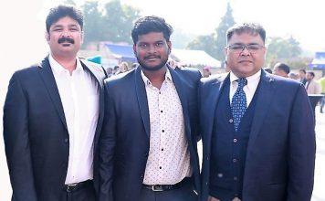 (L-R) Dr. Irfan Khan, Founder, Mr. Hari Kiran, Project Head & Mr.Pounit Varshney, Chief Business Officer of eBike