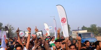 Over 800 MG India employees participate in the MG Vadodara International Marathon_3